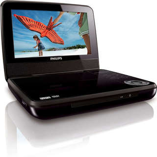 Philips PET741 Portable DVD Player 7-inch Display (Refurbished)