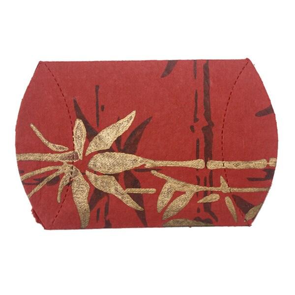 Set of 10 Bamboo Pillow Boxes (India)