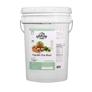 Augason Farms Vegetable Stew Blend 6-gallon Pail