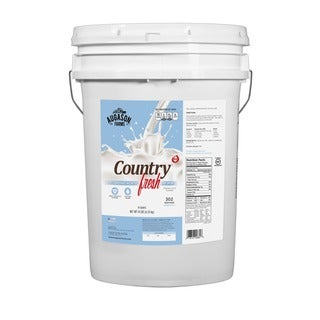 Augason Farms Country Fresh 100-percent Real Instant Nonfat Dry Milk 6-gallon Pail