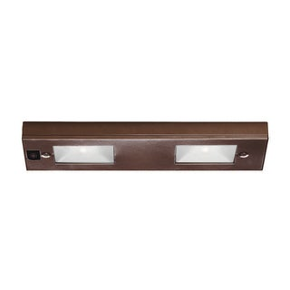 Line Voltage 2 Light Under Cabinet Light Bar