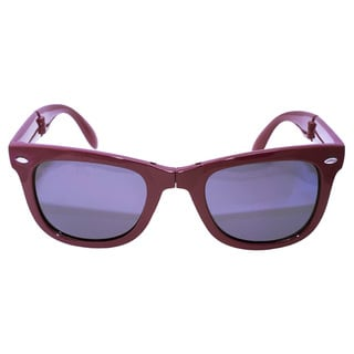 Folding Purple Sunglasses