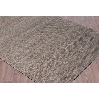 Woven Natural Jute Rugs Gray (5'x7 1/2')