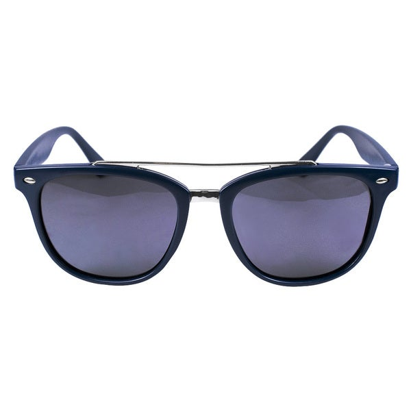 Classic Aviator Matt Navy Blue Sunglasses