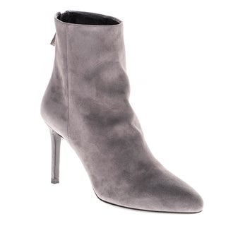 Prada Women's Suede Point-Toe Booties