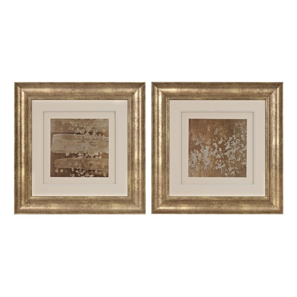 Golden Rule Shadow Box I, II' Limited Edition Print Under Glass Wall Art