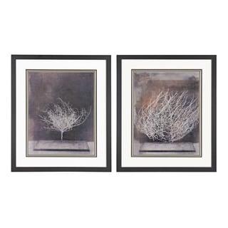 Desert Form V, VI' Print Under Glass Wall Art