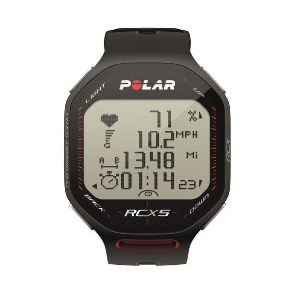 Polar RCX5 Triathlete Heart Rate Monitor, Black