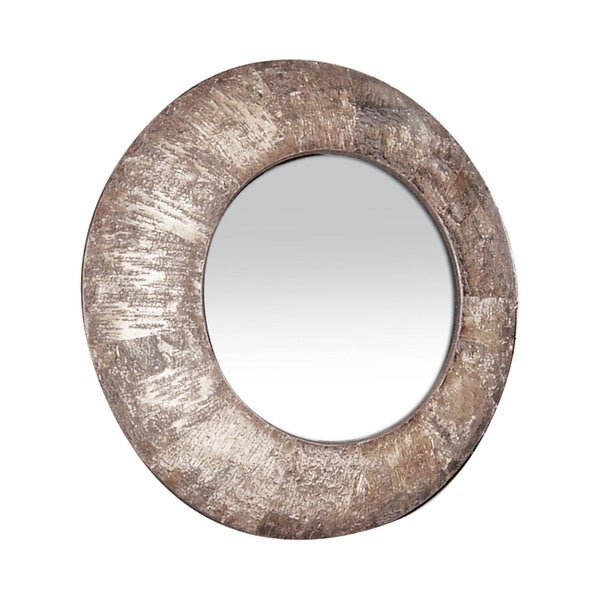 Natural Birch Bark Mirror