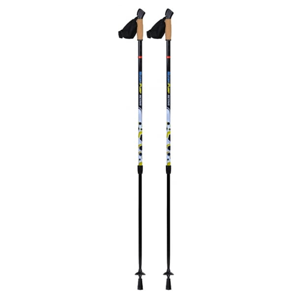 Original Bungypump Active Fitness 50-inch Walking Poles with 11-pounds of Built-in Resistance