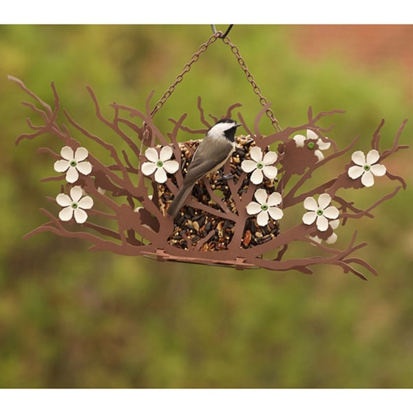 Pear Blossom Bird Feeder with Seed Cakes