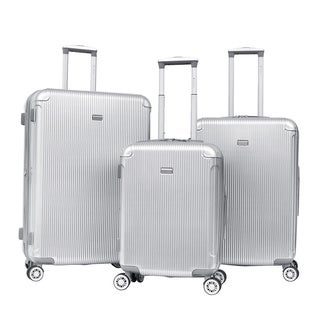 Gabbiano Arcitech 3-piece Expandable Hardside Spinner Luggage Set