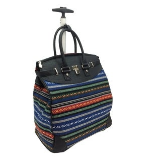 Rollies Aztec Rolling 14-inch Laptop Travel Tote