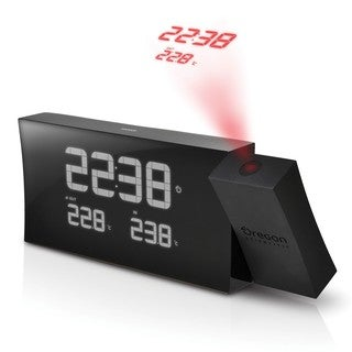 Oregon Scientific PRYSMA Atomic Projection Clock with Indoor / Outdoor Temperature