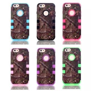 iPM iPhone 6 Camouflage Real Tree Rugged Protective Cases