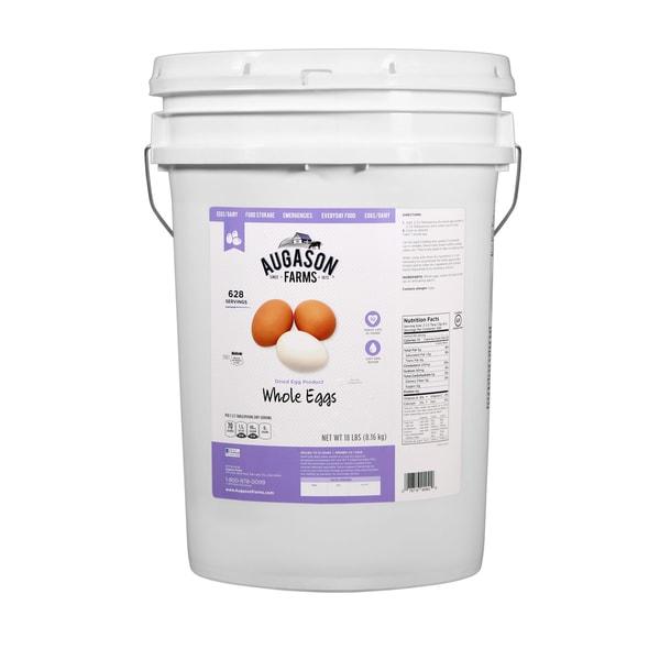 Augason Farms Dried Whole Egg 6-gallon Pail
