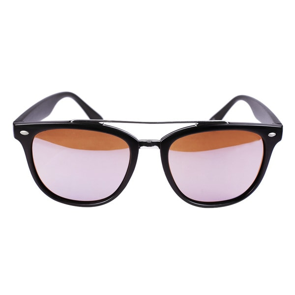 Classic Aviator Matt Black Brown Lense Sunglasses