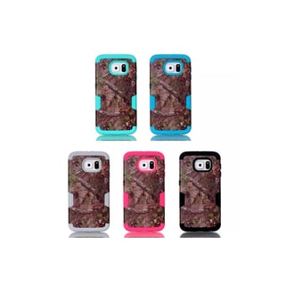 iPM Galaxy S6 Camouflage Real Tree Rugged Protective Case