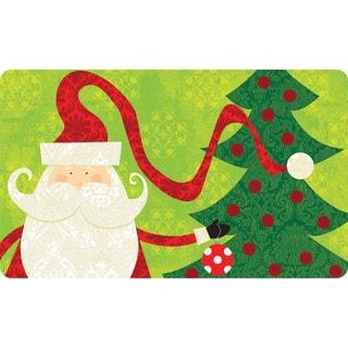 Indoor/ Outdoor Santa Buddy Doormat (18 x 30)