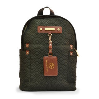 Adrienne Vittadini Quilted Nylon Backpack