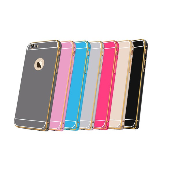iPM Aluminum Metal Bumber Frame with Back Plate Cover for iphone 6