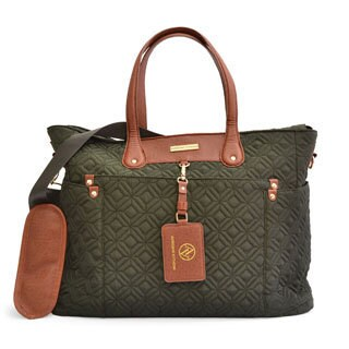 Adrienne Vittadini Quilted Nylon East West Tote