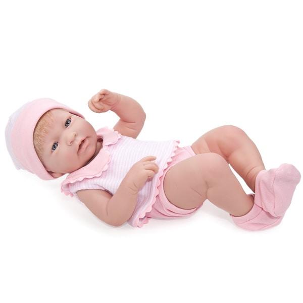 JC Toys So Lifelike Real Baby Girl Doll