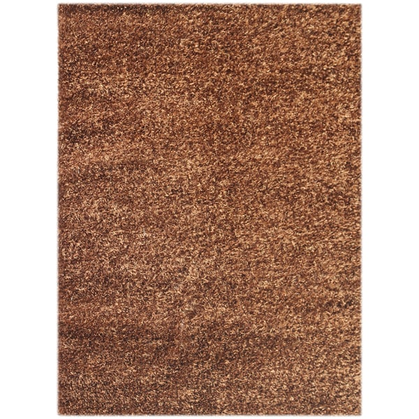 Pacifica Chocolate 2' x 3' Shag Rug (2' x 3')