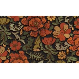 Outdoor Vintage Floral Doormat (18 x 30)