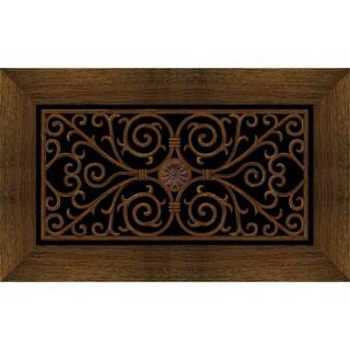 Outdoor Wrought Iron Cherry Doormat (20 x 47)