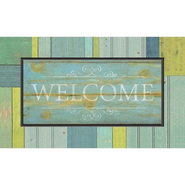 Outdoor Seaside Welcome Doormat (18 x 30)
