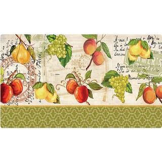 Indoor Quatrefoil Fruit Kitchen Mat (18 x 30)