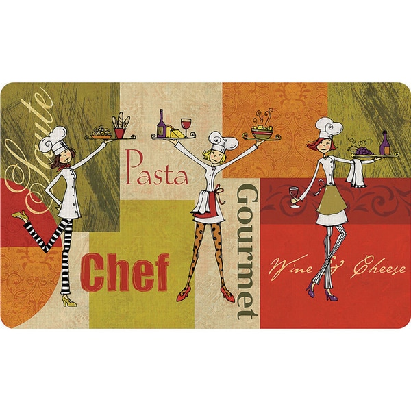 Indoor Lovely Chefs Kitchen Mat (18 x 30)