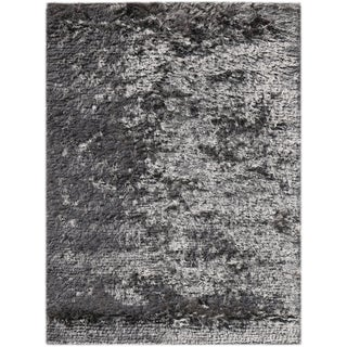 Pacifica Dark Grey Shag Rug (5' x 8')