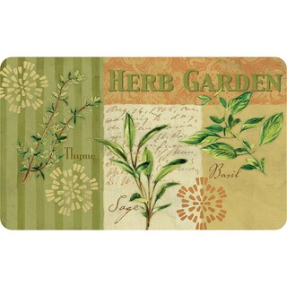 Indoor Garden Fresh Herb Kitchen Mat (18 x 30)