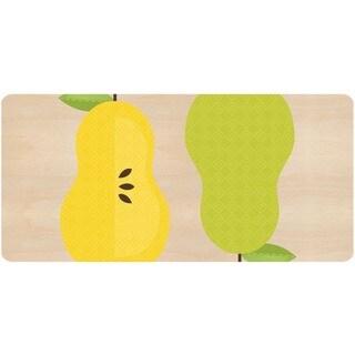 Indoor Pear Duo Kitchen Mat (20 x 42)