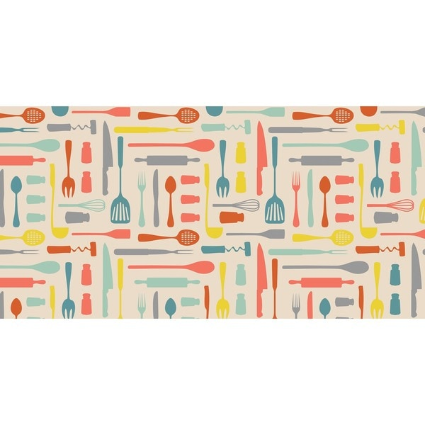 Indoor Utensils Multi Kitchen Mat (20 x 42)