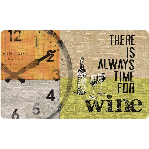 Indoor Always Wine Kitchen Mat (18 x 30)