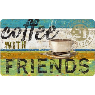 Indoor Coffee With Friends Kitchen Mat (18 x 30)