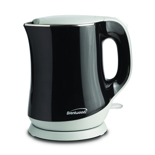 Brentwood KT-2013BK Black Cool Touch 1.3-liter Electric Kettle