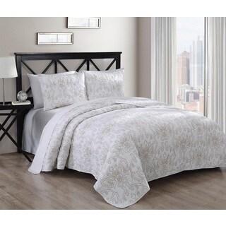 Simone 3-piece Cotton Quilt Set