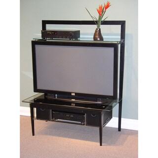 Modern Black Entertainment Stand