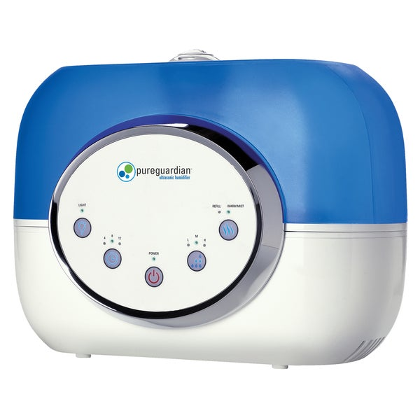 PureGuardian H4610  2-Gallon 120-Hour Ultrasonic Warm and Cool Mist Humidifier 16695805