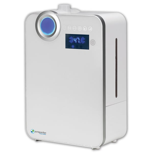 PureGuardian H7550 1.32-Gallon 90-Hour Elite Ultrasonic Warm and Cool Mist Humidifier with Digital Smart Mist Sensor