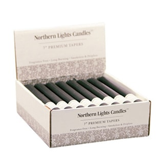 NLC Premium Tapers 7-inch Tabletop Candle (24-piece)