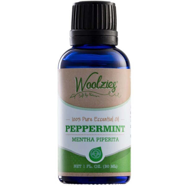 Woolzies 100-percent Pure Peppermint Essential Oil (1 Ounce)
