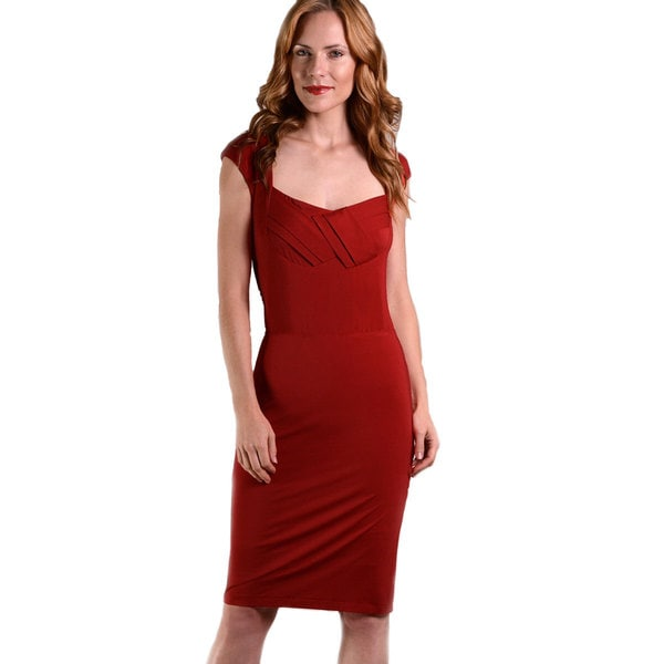 Red Hot Curves Women's Elsie Shapewear Dress