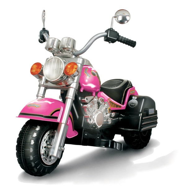 Harley Style Chopper Limited Edition Pink Kid's Motorcycle 16696192