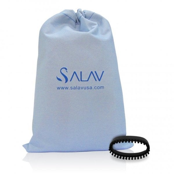SALAV SA-202 Accessory Pack, 2 Piece set - Brush & Travel Bag for use with TS01 Travel Hand Held Garment Steamer