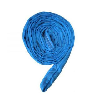 ASC Industries Blue Polyester Round Sling with 21200 Pound Vertical Capacity